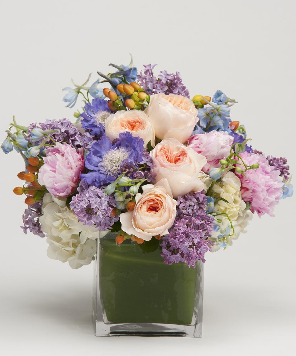 Soft pastels arrangement